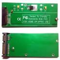 """mSATA SSD convert to 2.5"""" SATA 22pin Adapter PCBA ASUS UX31 UX21 Hard Disk XM11"""