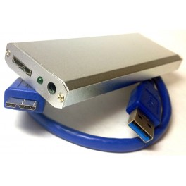 USB3.0 SSD Harddisk Enclosure Cartridge Drive 2012 MacBook Pro Retina A1425 A1398 MC975 MC976 MC212 MD213