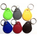 Set of 6 Different Colors Key Rings NFC Label Smart Tags MiFare Ultralight Type 2 Tag Android Nexus 4 10