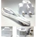 Genuine Original Samsung UK 2A Charger Adapter+USB Cable Galaxy Note 2 II N7100 S4 i9500