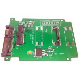 "Card slot 50mm Mini PCI-E mSATA SSD adapter converter convert to 2.5"" 3.5"" SATA"