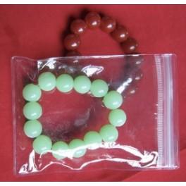 "50pcs PVC Jewelry/Watch/Jade Ziplock Reclosable Clear Plastic Bags Ziploc 3.5"" x 5.1"" Zip Lock (9cm x 13cm)"