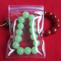 "50pcs PVC Jewelry/Watch/Jade Ziplock Reclosable Clear Plastic Bags Ziploc 2.9"" x 4.3"" Zip Lock (7.3cm x 11cm)"
