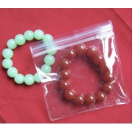 "50pcs PVC Jewelry/Watch/Jade Ziplock Reclosable Clear Plastic Bags Ziploc 4.1"" x 4.1"" Zip Lock (10.5cm x 10.5cm)"