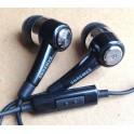 Original SamSung Black In-Ear Handsfree Earphone for Galaxy S2 P1000 N7100 EHS44