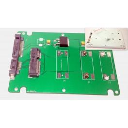 "50mm 2.5"" SATA Mini PCI-E SSD External Harddisk HDD Enclosure Drive Case ASUS PC"