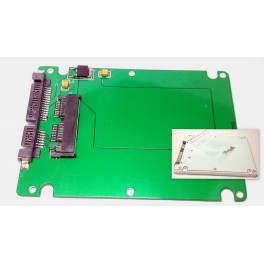 "1.8"" Micro SATA SSD Convert to 2.5"" SATA Adapter Converter Enclosure Drive Case"