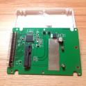 "Convert Adapter for PCI-E MSATA SSD 50MM 3.3V to 2.5"" IDE 5V 44PIN SSD Enclosure"
