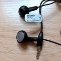 Original Sony Stereo Headset MH410c Handsfree Earphone for Xperia Z1 Z2 Z3 BLACK