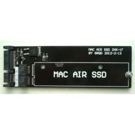 Card slot Apple MacBook Air SSD convert to SATA converter adapter 3.3V no Jumper