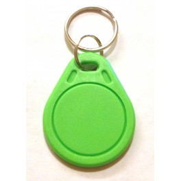 5pcs UID changeable rewritable Mifare classic 1k NFC tag green keyring rewrite tags