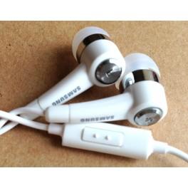 Original SamSung white In-Ear Handsfree Earphone for Galaxy S2 P1000 N7100 EHS44