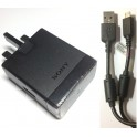 Original Sony Ericsson EP850 USB Quick Charger UK Plug + EC450 Charge Data Cable for Xperia S P U