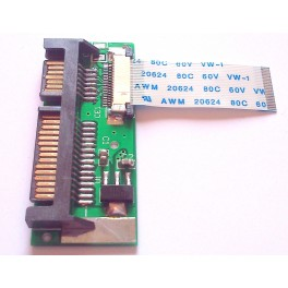 24pin 1.8 2.5 LIF SSD HDD to 22pin SATA adapter card HS12UHE / MK1639GSL / MK2239GSL